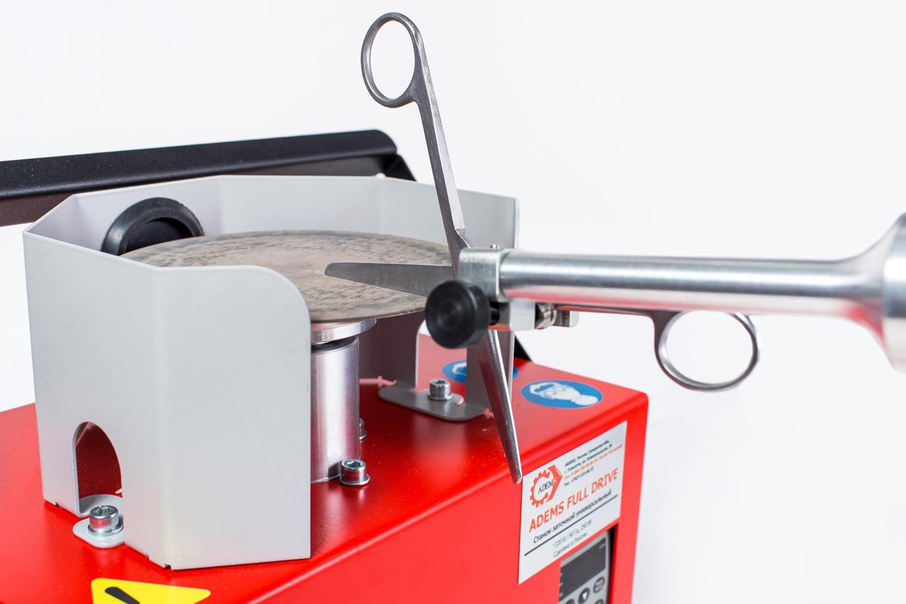 ADEMS Full Drive - станок для заточки парикмахерского инструмента